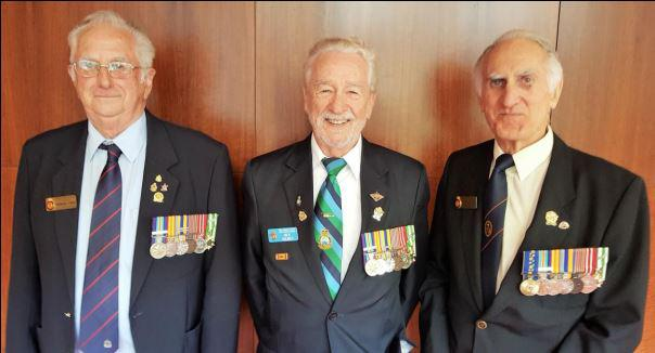 Three of our Life Members: Brendan Lynch, Rick Holmes and Graeme Dodd